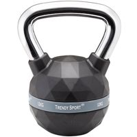 TRENDY SPORT Kettlebells Premium Chrom Black 12 KG