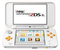 New Nintendo 2DS XL, Farbe Weiß/Orange