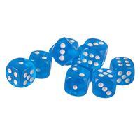 10er-Set D6 Sechsseitig Würfel Dice 16mm für Brettspiel Spielzeug Accs Rot