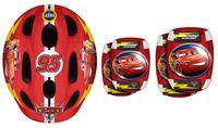 Helm + Ellbogen- & Knie Schutz, CARS