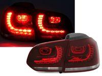 LED Rückleuchten Set für VW Golf 6 VI in Rot Weiß Cherry Kirschrot Heckleuchten