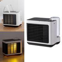 ZREE® Mini Luftkühler Tischventilator Klimaanlage Klimagerät Tragbar Ventilator USB Luftbefeuchter