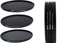 Haida Slim Pro II MC Graufilterset 8x, 64x, 1000x - 67 mm, inklusive Stack Cap