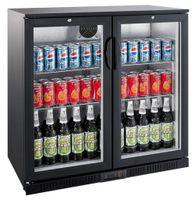 Flaschenkühler 208 Liter, 2 Glastüren