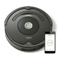iRobot Roomba 676, Lithium-Ion (Li-Ion), 60 min - 2 h, 0,6 l, rund, schwarz