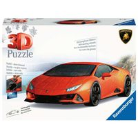 RAVENSBURGER 3D Puzzle-Autos Lamborghini Huracán EVO Kinderpuzzle 108 Teile
