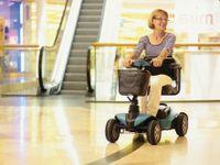 Seniorenmobil 4-Rad Listo mit Licht 6 km/h