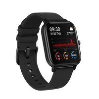 """COLMI P8 Schwarz Smartwatch Smart Bracelet 1,4 """"TFT-Bildschirm IPX7 Wasserdicht BT4.2 Übungsaufzeichnung Herzfrequenz / Schlafmonitor Blutdruckmessung Stoppuhr Kamera / Musiksteuerung Multisportmodi Smart Band Uhr mit Silikonarmband Kompatibel mit Android iOS"""