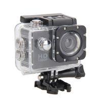 Full HD1080P Sports Cam Action Unterwassertauchkamera Videorecorder Schwarz