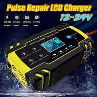 Intelligentes Batterieladegerät 12V 24V 8A 150Ah Auto Autobatterie Batterielader