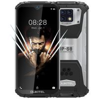 OUKITEL WP6 6,3 Zoll FHD + IP68 Wasserdichte 10000mAh 48MP Dreifach-Rückfahrkamera 6GB 128GB Helio P70 4G Smartphone Globale Version