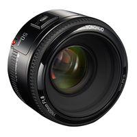 YONGNUO YN EF 50mm f/1.8 AF-Objektiv 1: 1.8 Norm Festbrennweite Aperture Auto Fokus fuer Canon EOS DSLR-Kameras