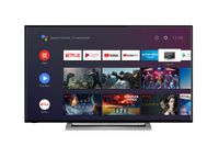 Toshiba 4K Ultra HD LED TV 139cm (55 Zoll) 55UA3A63DG Triple Tuner, Android Smart TV, HDR