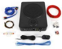8 Zoll Ultradünner Car Audio Modified Subwoofer Leistungsverstärker Sub Bass Lautsprecher Untersitz Schlanker Aktiv Kit 200W