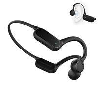 Bluetooth Knochenschall direktionale Audio Sportkopfhörer Wasserdicht Headphones Mikrofon zum Radfahren, Joggen, Wandern