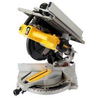 DeWALT D27113-QS Tisch-, Kapp- und Gehrungssäge 1600 Watt Leistungsstark, inkl. Sägeblatt, Parallelanschlag, Schutzhaube und mehr