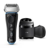 Braun Series 8 8365cc Elektrischer Rasierer, Reinigungs- & Ladestation, Wet&Dry Elektrorasierer Herren, Rasierapparat mit Präzisionstrimmer, schwarz