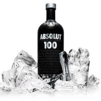 1 l Flasche Absolut Edel Vodka 100 Proof | 50 % vol | 1,0 l