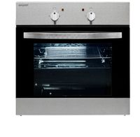Exquisit EBE 555-1.1 Elektro-Einbaubackofen | Ober- / Unterhitze | Inox