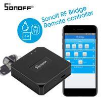 Sonoff RF Bridge 433 MHz Wifi Wireless Intelligente Wi-Fi-Fernbedienung RF-Controller Automatisierungsmodul Switch Für Smart Home Security Alexa Google Home
