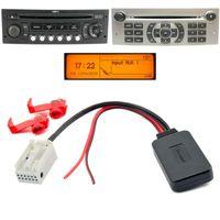 Bluetooth Aux Adapter kompatibel mit PEUGEOT 207 307 407 CITROEN C3 C4 Blaupunkt RD4 N1 Radio