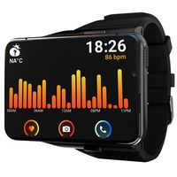LOKMAT APPLLP MAX 2.88'' Full Touch 4G Smartwatch 4GB+64GB Waterproof Fitness Tracker Outdoor Sports Armband Uhr
