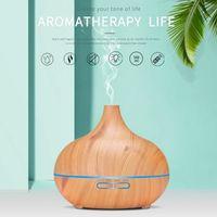 Aroma Diffuser 550ml Ultraschall Luftbefeuchter Diffusor Aromatherapie Düfte Humidifier für ätherische öle Raumbefeuchter Duftlampen Feuchtigkeitsabgabe für Raum,Büro,Yoga,Spa,usw