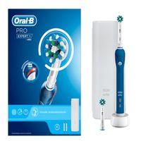 Oral-B Pro Expert+ Elektrische Zahnbürste Cross-Action mit Ladestation Reiseetui
