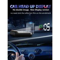 Digitales Auto Head Up Display Mehrfarben Überdrehzahl Spannungsalarm  40 80 ℃