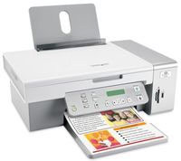 Lexmark X3550 All-In-One, Tintenstrahl, Farbe, Mono, 15 S./Min., 5 S./Min., 4800 x 1200 DPI