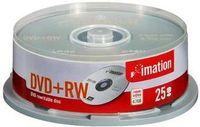 Imation DVD+RW 4x 4.7GB (25), 4,7 GB, DVD+RW, 120 mm, 25 Stück(e), 120 min, Spindel