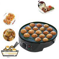 18 Löcher Takoyaki Maker Waffel Breadfast Uncoated Kochplatte Maschine Langlebig