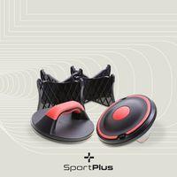 SportPlus Push Up Extreme, drehbare Liegestütz-Griffe, Krafttraining, Fitness