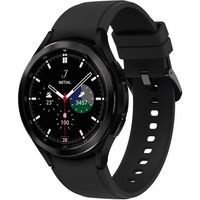 Samsung Galaxy Watch4 Classic R890 46 mm Edelstahl Bluetooth - Smartwatch - schwarz