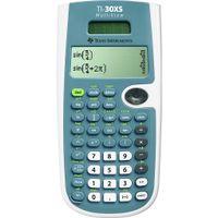 Texas Instruments TI-30XS MultiView, Hosentasche, Batterie/Solar, Wissenschaftlich, Blau, Weiß, Knöpfe, LCD