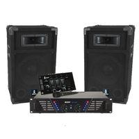 BOOST-300 DJ Pack + Sound + 4 Portico Lichteffekte DMX EUPHORIA