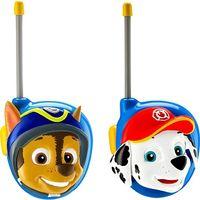 Paw Patrol Walkie Talkie Set mit 2 Spielzeug Funkgeräten für Kinder ab 3 Jahren