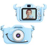 """Kinder Kamera, 2.0""""Display 1080PHD Digitalkamera für 4-14 Jahre alt mädchen und jungen, mit 32GB SD Karte, Blau"""