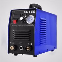 CUT50 220V 50A Plasmaschneider Plasmaschneidemaschine mit PT31 Schneidbrenner-Schweißzubehör