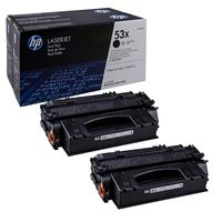 HP Toner 53X 2er Pack (Q7553XD), schwarz