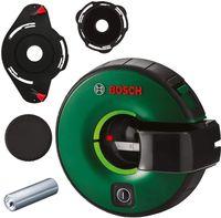 Bosch Atino, 2 m, 630-650 nm, Bezugspegel, Schwarz, Grün, Akku, AA