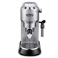 DeLonghi EC685.M Dedica Style Siebträger Espressomaschine silber