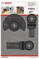 Bosch Holz-Basis-Set, 3-teilig, Sägeblätter für Multifunktionswerkzeuge