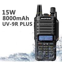 10W high Power Baofeng UV-9R plus Walkie Talkie Wasserdicht Dual Band UHF VHF Jagd CB Ham Radio UV 9R plus Two Way Radio