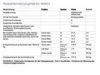 AEG IKE84441XB Schwarz Integriert Zonen-Induktionskochfeld 4 Zone(n)