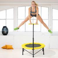 Fitness Trampolin Sport Jumper Mini Indoor mit Griff Life Jumping 100kg