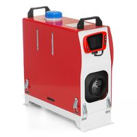 Warmtoo Standheizung All In One 12V 8KW Air Diesel Heizung Luftheizung Parkheizung 2020 Neu Rot