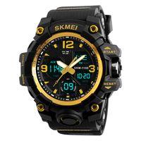 SKMEI 1155B Quarz Digital Elektronische Herrenuhr Mode Laessig Outdoor Sports Maennlich Armbanduhr