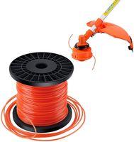 Forever Speed 2.4mm x100m Trimmerfaden Trimmer Schnur Rasen Mähfaden 5-kant Nylon Rasentrimmer Faden Durchmesser Orange Rot
