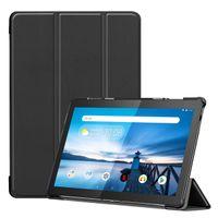Hülle für Lenovo Tab M10 TB-X605F 10.1 Zoll Smart Cover Etui mit Standfunktion und Auto Sleep/Wake Funktion Schwarz